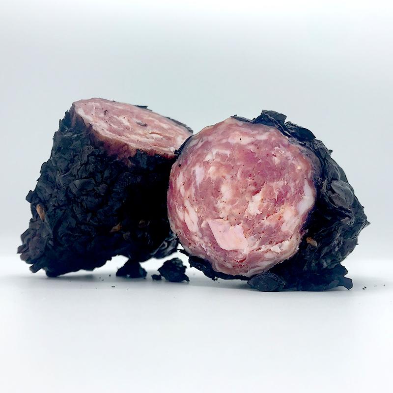 Rode wijn salami van Fracassa Salumi. Italiaanse droge worst online bestellen