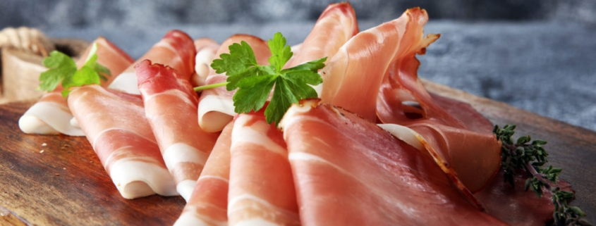 Italiaanse rauwe ham (proscuitto)