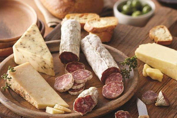 Italiaanse droge worst (Salami)