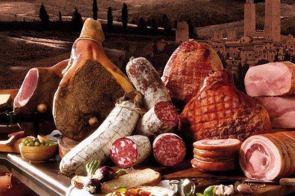 Italiaanse vleeswaren